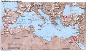 Βόσπορος (Τουρκία) – Σουέζ (Αίγυπτος) – Γιβραλτάρ(Ισπανία)