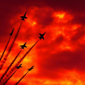 Βρετανικά μαχητικά και μεταγωγικά αεροσκάφη στη Κύπρο για ενδεχόμενο χτύπημα στηΣυρία