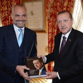 Με Ερντογάν συναντήθηκε ο νέος Αλβανόςπρωθυπουργός