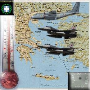 Με οπλισμένα μαχητικά , CN-235 και Ε/Π σε όλο το Αιγαίο οι Τούρκοι!