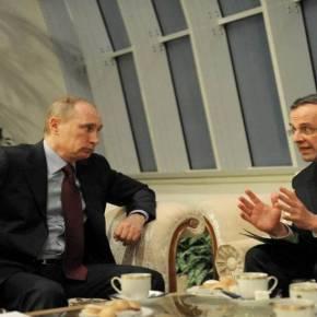 Επιστολή Σαμαρά σε Πούτιν για μείωση του κόστους του φυσικούαερίου