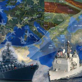 Η ΡΩΣΙΑ ΘΑ ΑΝΤΙΣΤΑΘΕΙ ΕΝΕΡΓΑ ΣΤΙΣ ΗΠΑ;   Πάση δυνάμει το Moskva πλέει προς Α.Μεσόγειο μαζί με 1 Α/Τ και 4αποβατικά!