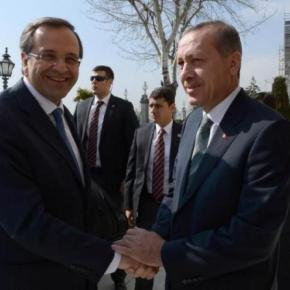Ερντογάν προς Σαμαρά: «Eυχαριστώ»(σ.σ.Τeşekkür)