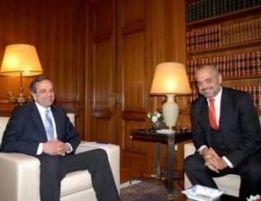 Συνάντηση Ράμα – Σαμαρά: Νέο κεφάλαιο στις Ελληνοαλβανικές σχέσεις(;)
