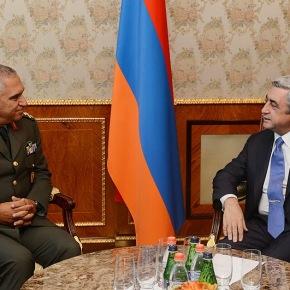 Δεκτός απο τον Πρόεδρο της Αρμενίας ο Α/ΓΕΕΘΑ … Κατέθεσε στεφάνι στο Μνημείο Γενοκτονίας!