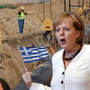 Γερμανικά ΜΜΕ: Κρατάμε την Ελλάδα στο ευρώ μόνο για το φυσικόαέριο