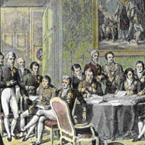Η συνθήκη της «Ιεράς Συμμαχίας» και η σημασία της για την Ευρώπη (η πως οι χριστιανικές αξίες χρησιμοποιούνται προσχηματικά στην διπλωματία και τις διεθνείςσχέσεις)