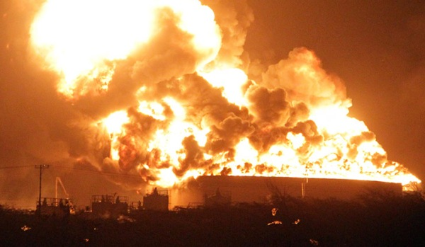 Refinery of Amuay explosion