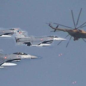 Τουρκία: Παραλίγο επεισόδιο με F-16 και συριακόελικόπτερο