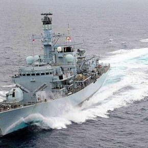 HMS Montrose εναντίον Φ/ΓΚΑΝΑΡΗΣ