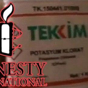 Διεθνής Αμνηστία: Μην πουλάτε χημικά στηνΤουρκία!