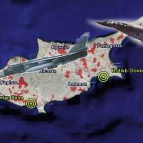 ΕΝΑΝΤΙΟΝ ΤΟΥΣ TYPHOON ΤΗΣ RAF & F-16 ΤΗΣ ΤΗΚ Εικονική επίθεση συριακών βομβαρδιστικών Su-24MK στην βρετανική βάση τηςΚύπρου