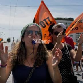 Η τρόικα στην Αθήνα, κύμα απεργιών στουςδρόμους
