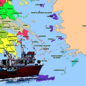 Τουρκικές μηχανότρατες σαρώνουν ταΔωδεκάνησα
