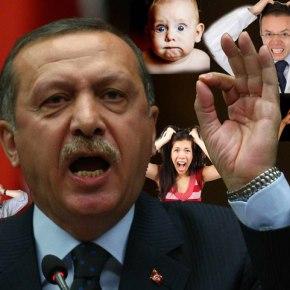 Ο απίθανος Ερντογάν με τα απίστευτα επιχειρήματάτου…