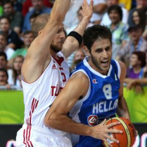 Eurobasket: Νίκη πρωτιάς με τηνΤουρκία