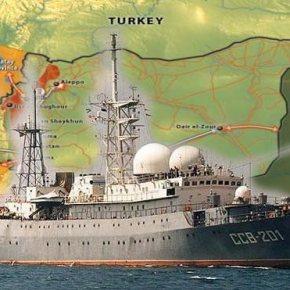 ΟΛΟΙ «ΜΕ ΤΟ ΔΑΚΤΥΛΟ ΣΤΗΝ ΣΚΑΝΔΑΛΗ» Η Μόσχα στέλνει πλοίο ηλεκτρονικού πολέμου στις ακτές τηςΣυρίας