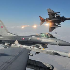Ξεσάλωσαν οι Τούρκοι και έστειλαν 10 μαχητικά σήμερα στο Αιγαίο !..».Χωρίς εντολή κατάρριψης»