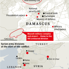 Ο χάρτης των στόχων στη Συρία – Θα είναι η Σούδα «ορμητήριο»;