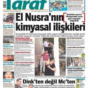 Αέριο Σαρίν έψαχναν Σύροι αντάρτες στηνΤουρκία!