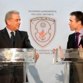 Συνάντηση ΥΕΘΑ Δημήτρη Αβραμόπουλου με τον Γ.Γ. τουΝΑΤΟ