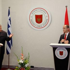 Συνάντηση Ευ. Βενιζέλου, με τον Αλβανό ομόλογό του, Ντ.Μπουσάτι