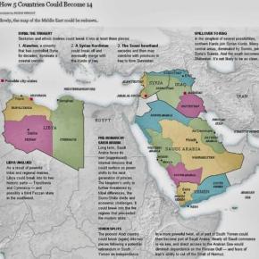 Τουρκικός εφιάλτης ο χάρτης που δείχνει πως 5 χώρες θα γίνουν 14! Γράφει ο ΣάββαςΚαλεντερίδης