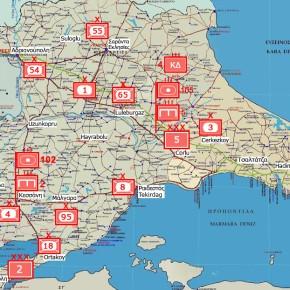 Εχθρογνωσία: Η 1η Στρατιά της Διοίκησης Χερσαίων Δυνάμεων τηςΤουρκίας