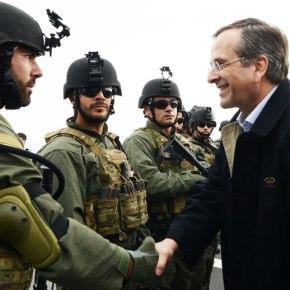 Ο Πρωθυπουργός Αντώνης Σαμάρας στην άσκηση «ΠΥΡΠΟΛΗΤΗΣ»: Υπερήφανοι για τις ΈνοπλεςΔυνάμεις