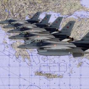 Οπλισμένα μαχητικά έστειλαν σήμερα οι Τούρκοι στο Αιγαίο!