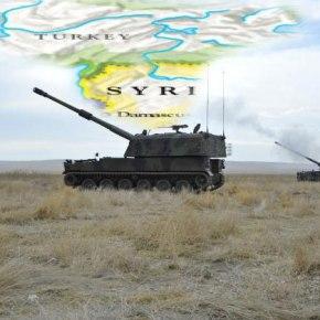 Τουρκία: Πυροβολικό έπληξε στόχους στηΣυρία