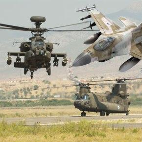 ΜΕΤΑΞΥ AEΡΟΠΟΡΙΑΣ ΣΤΡΑΤΟΥ ΚΑΙ IAF Νέα άσκηση Ελλάδος-Ισραήλ στηνΚρήτη