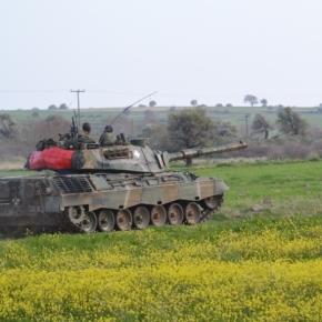 Ασκήσεις του Ελληνικού Στρατού στοΑιγαίο