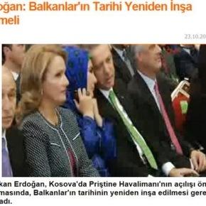 Ερντογάν: Η Ιστορία των Βαλκανίων πρέπει να …ξαναγραφεί
