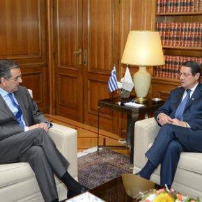 Αρχίζει η παρτίδα του Κυπριακού Διττός ο σκοπός της επίσκεψης Αναστασιάδη στηνΑθήνα