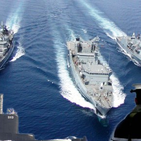 «ΑΣΤΡΑΠΗ 2013»: Ο ελληνικός στόλος και πάλι στοΑιγαίο