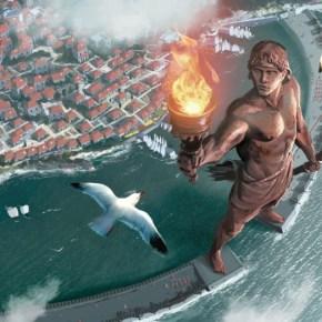 Η αναβίωση του αρχαίου θαύματος του Κολοσσού της Ρόδου έργο με όραμα ειρήνης στην περιοχή τηςΜεσογείου