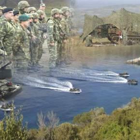 ΑΣΚΗΣΗ «ΠΑΡΜΕΝΙΩΝ 2013» 70.000 άνδρες και γυναίκες των ΕΕΔ σε σενάρια εισβολής σεΈβρο-νησιά