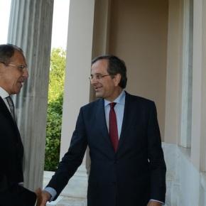 Σαμαράς σε Lavrov: «Μειώστε την τιμή του φυσικούαερίου»