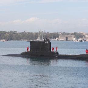 To υποβρύχιο ΠΟΝΤΟΣ (S119) στην ΑνατολικήΜεσόγειο