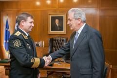 Ο Ρώσος Αρχηγός Ναυτικού στονΑβραμόπουλο