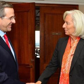 ΗΠΑ: Συνάντηση Σαμαρά-Λαγκάρντ: Η βιωσιμότητα του χρέους το βασικόθέμα