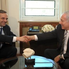 Μια λεπτομέρεια της επίσκεψης του Αντώνη Σαμαρά στοΙσραήλ