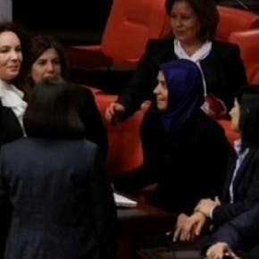 Ισλαμική μαντίλα στο τουρκικόΚοινοβούλιο