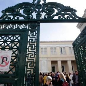 Ο υπουργός Παιδείας στον πρύτανη του ΕΚΠΑ Θ. Πελεγρίνη: Άνοιξε τοΠανεπιστήμιο