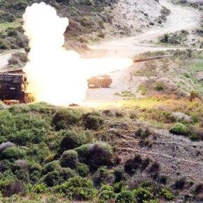 Βολές Πολλαπλών Εκτοξευτών Πυραύλων του Δ΄ΣώματοςΣτρατού