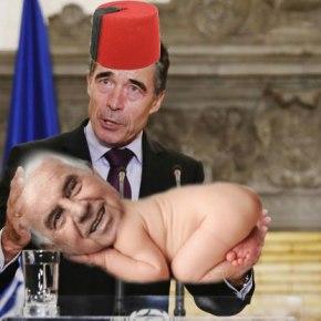 Γκάφα (;) Ράσμουσεν: Νομιμοποίησε την τουρκική εισβολή στηΚύπρο!