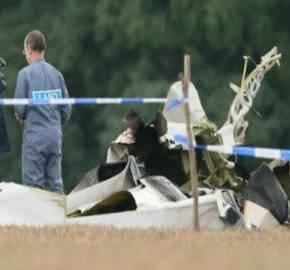 ΣΤΑ ΜΕΓΑΡΑ – Αεροσκάφος έπεσε στο στρατιωτικόαεροδρόμιο