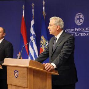 Με τιμές στην Αθήνα ο υπουργός Άμυνας της Αρμενίας(ΦΩΤΟ)
