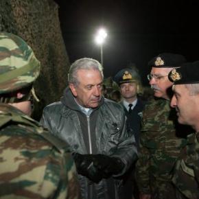 Τι είδε ο Αβραμόπουλος στον Έβρο και μίλησε για αίσθηση καθήκοντος, τιμής, περηφάνιας καιαξιοπρέπειας